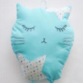 Hot air baloon cushion