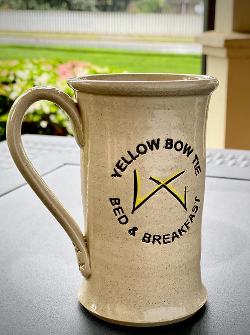 Yellow Bow Tie Slim Body Magnolia Mug