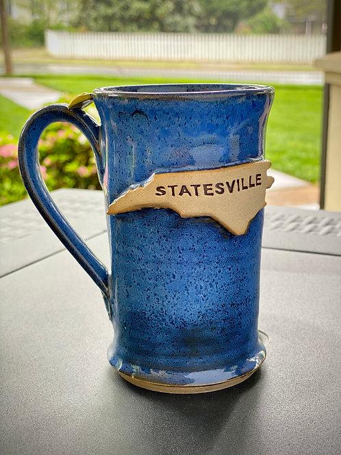 Statesville Slim Body Blue Mug