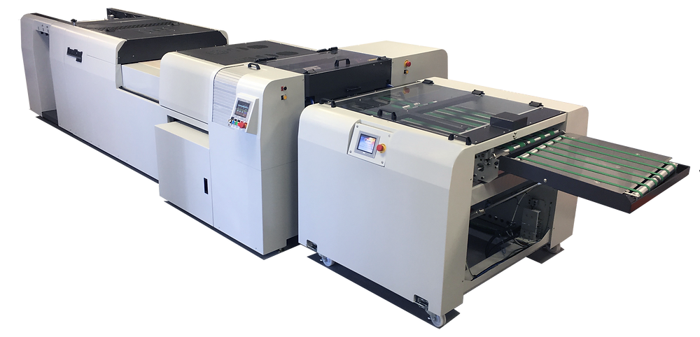 The ExcelCoat ZRS30 Spot Coater for Digital Print Applications