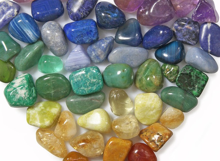 Crystal Cleansing and Communion