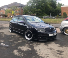 SKODA FABIA FITTED WITH 18 INCH CALIBRE VINTAGE
