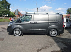 FORD TRANSIT FITTED WITH 20 INCH 1AV