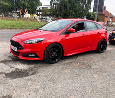 FORD FOCUS ST FITTED WITH 19 INCH BOLA B11