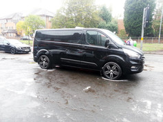 Ford Transit Fitted With 20 Inch Riviera Vigor