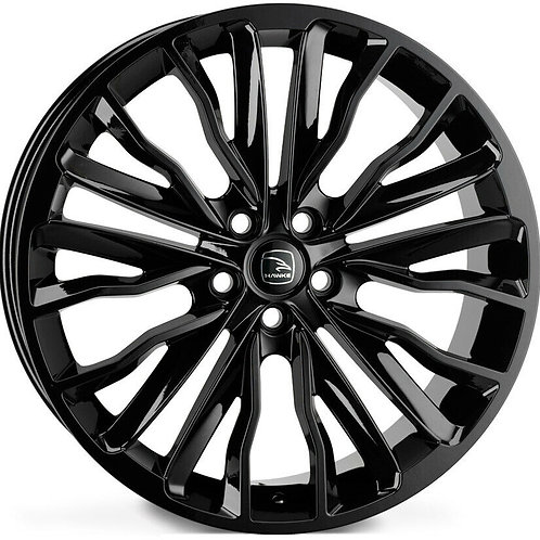 "22"" RANGE ROVER VOGUE ALLOYS HAWKE HARRIER IN BLACK BEST PRICE IN UK"