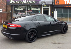 Jaguar XF Fitted With 20 Inch Axe Ex30