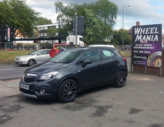 VAUXHALL MOKKA FITTED WITH 18 INCH FOX FX10