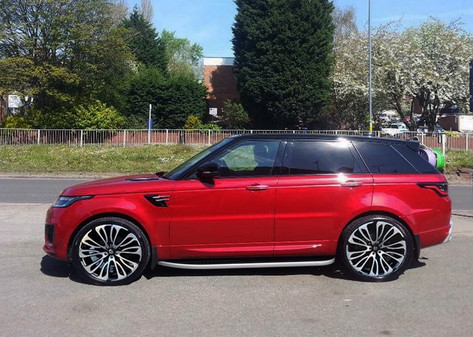 Range Rover Sport fitted with 22 Inch Ha