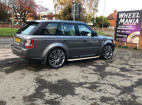 Range Rover Sport Fitted With 22 Inch TSR