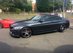 Bmw F10 Fitted With 20 Inch AVR