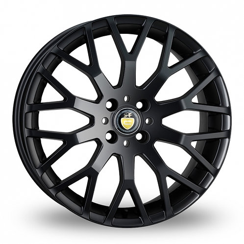 """17"""" VW - AUDI CADES VIENNA ALLOY WHEELS FINISHED IN PIANO BLACK"""