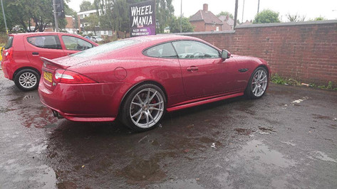 JAGUAR XKR FITTED WITH 20 INCH 2 FORGED ZF2