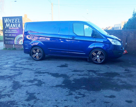 FORD TRANSIT FITTED WITH 20 INCH RIVIERA