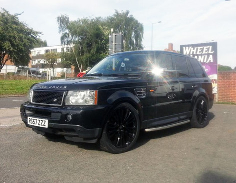 Range Rover Sport Fitted With 22 Inch Hawke Halycon