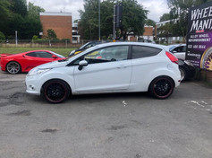 FORD FIESTA FITTED WITH 17 INCH JET RS