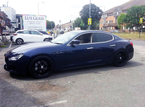 MASERATI GHIBLI FITTED WITH 20 INCH MODULAR VELCEO