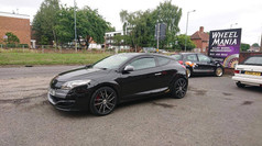 RENAULT MEGANE FITTED WITH 19 INCH CALIBRE CCZ