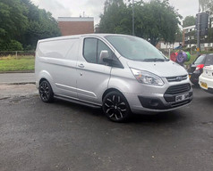 FORD TRANSIT FITTED WITH 18 INCH RIVIERA TREKKER