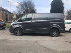 FORD TRANSIT FITTED WITH 18 CALIBRE T-SPORT