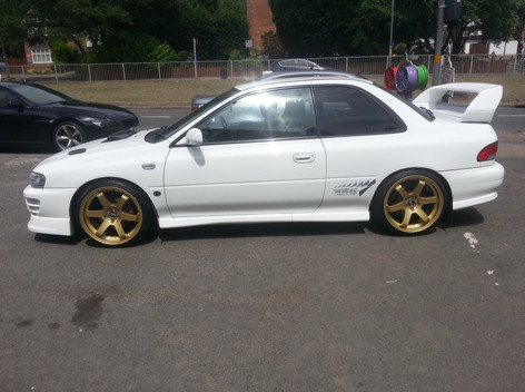 """Subaru Fitted With 18"""" Bola B1"""