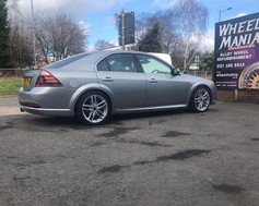 FORD MONDEO FITTED WITH 18 INCH DRC DRS.