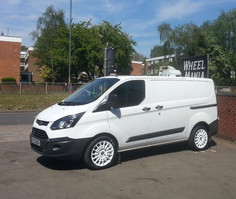 FORD TRANSIT FITTED WITH 18INCH CALIBRE T-SPORT