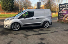 FORD TRANSIT FITTED WITH 18 INCH DRC DRS