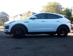 Jaguar E Pace Fitted With 20 Inch Hub V20