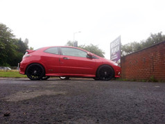 HONDA CIVIC FITTED WITH 19 INCH TEAM DYNAMICS IMOLA