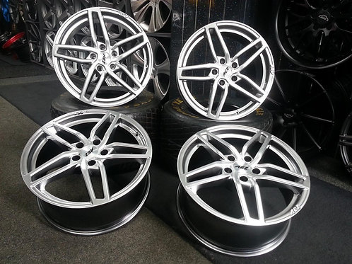 "18"" AEZ GENUA ALLOY WHEELS & TYRES GERMAN TUV APPROVED AUDI TT TO 2007"