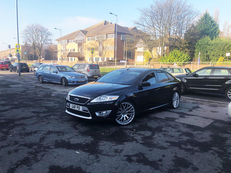 Ford Mondeo Fitted With 20 Inch Hub V20