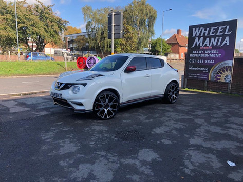 """Nissan Juke Nismo fitted with 20"""" Balmor"""