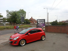 VAUXHALL CORSA FITTED WITH 17 INCH CALIBRE VINTAGE