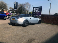 NISSAN 350Z FITTED WITH 20 INCH JUDD T311