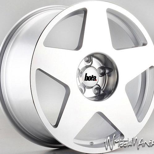 "18"" BOLA B10 STAGGERED CONCAVE WHEELS 5X112 VW GOLF MK5"