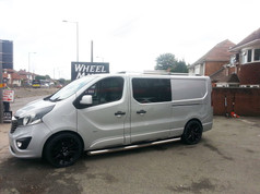 Vauxhall Vivaro Fitted With 20 Inch Zito