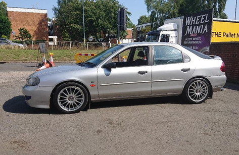 FORD MONDEO FITTED WITH 17 INCH TEAM DYNAMICS MONZA R
