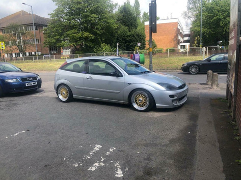 FORD FOCUS FITTED WITH  17 INCH CALIBRE VINTAGE