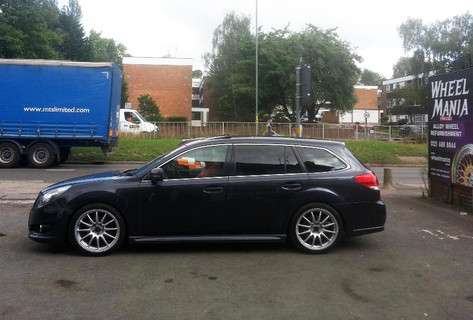 SUBRAU FORESTER FITTED WITH 18 INCH PRO RACE 1.2