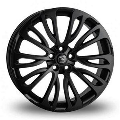 "22"" RANGE ROVER VOGUE ALLOYS HAWKE HALYCON IN BLACK BEST PRICE IN UK"