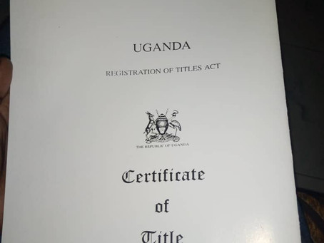New Land Title!!!