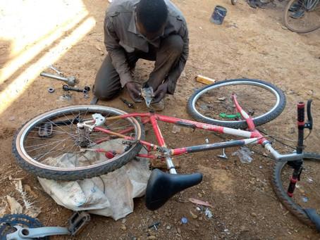 Bike Needing Repair