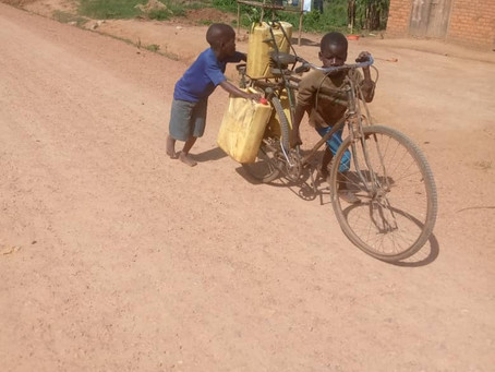 Teamwork Fetching Daily Water