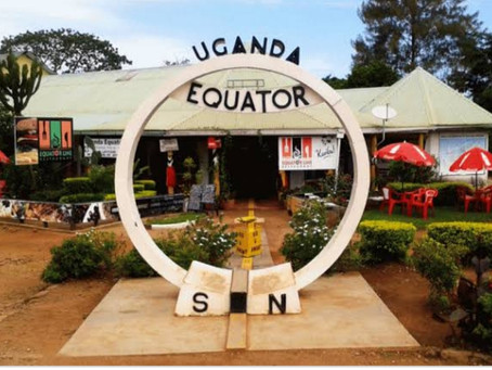 Land Almost on Equator!