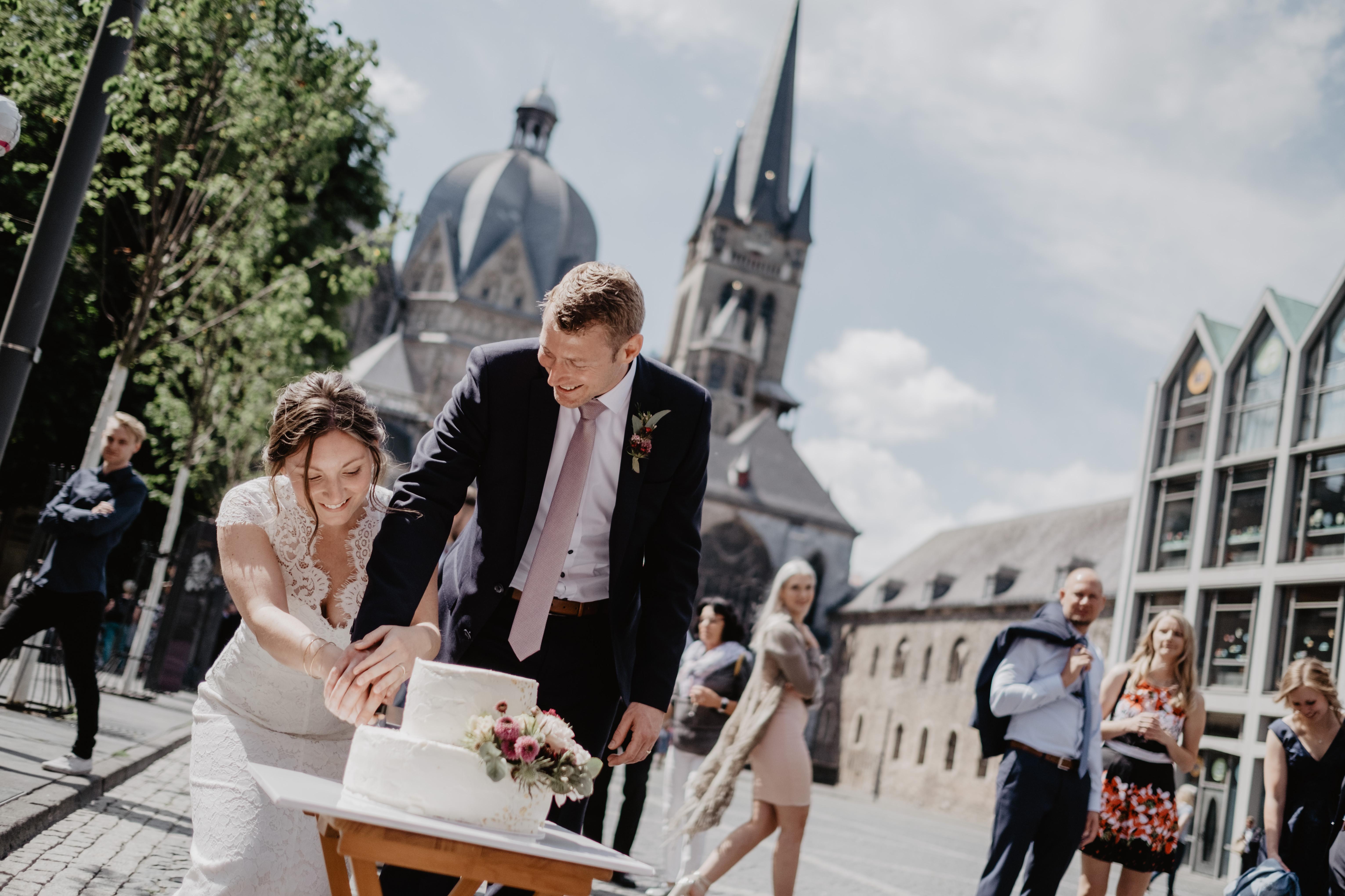 Hochzeitsreportage Foto light