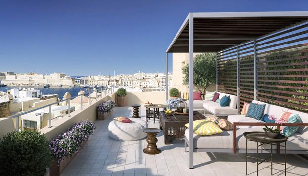 Terrace.