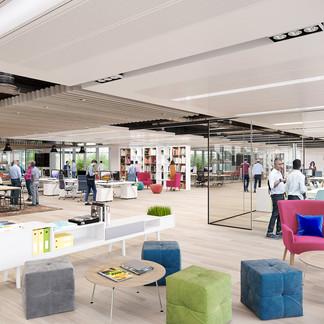Office Refurbishment - Canary Wharf
