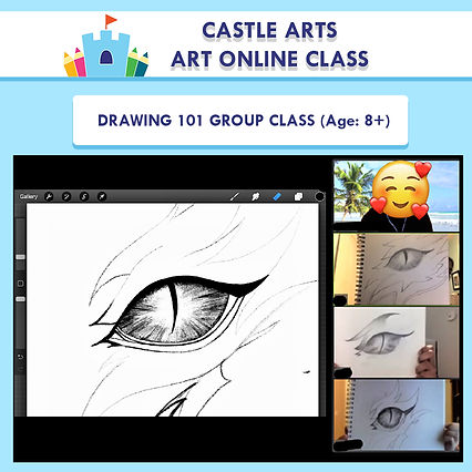 Drawing 101 group art picture version 2.