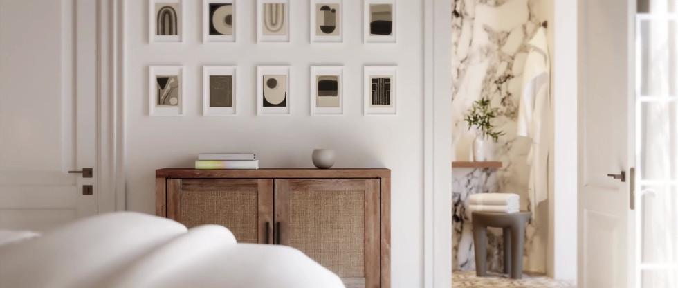 Master Bedroom - Simple Pan.